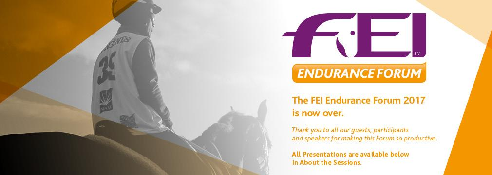 FEI Endurance Forum