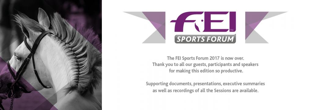 My FEI Sports Forum