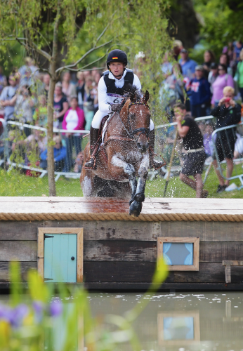 Michael Jung (GER), pictured at the London 2012 Olympic Games where he became the first Eventing athlete to hold the European, world and Olympic titles simultaneously after scoring individual and team gold, has jumped to the top of the FEI World Eventing Rankings. (Pierre Costabadie/FEI).