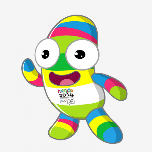 NANJINGLELE, the Nanjing 2014 Youth Olympic Games mascot. (c)Nanjing 2014