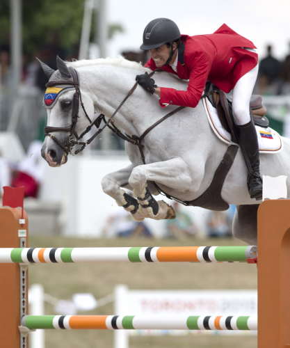 Pan-Am Games silver medallist Andres Rodriguez (VEN), who was tragically killed in a car crash on 4 January 2016. (FEI/Cealy Tetley)