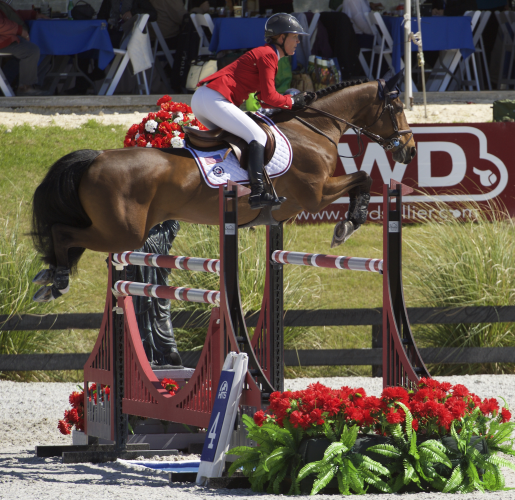 Lauren Hough and Ohlala, Team USA at Ocala FEI Nations Cup™ Jumping (FEI/Alden Corrigan)